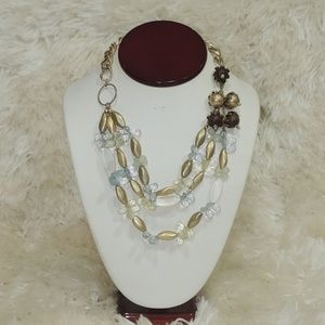 Macy's 3 layers women necklace